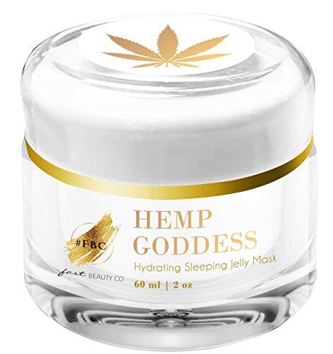 Fast Beauty Co. Fast Beauty Co. Hemp Goddess Hydrating Sleeping Jelly Mask 60 Ml Jar, 2.02 Fluid Ounce