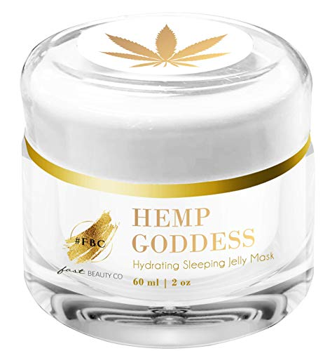 Fast Beauty Co. Fast Beauty Co. Hemp Goddess Hydrating Sleeping Jelly Mask 60 Ml Jar, 2.02 Fluid Ounce