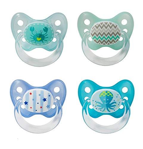 4 X Baby Nova Silikon Schnuller Dentistar Gr. 2 ab dem ersten Zahn