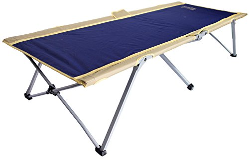 BYER OF MAINE Easy Cot, Extra Large, 78L X 31W X 18, Heavy Duty, Holds 330 Pounds, Folding Cot, Cot for Sleeping, Comes with Carry Bag, Easy to Assemble, Ideal for Guest Bed, Camp Cots for Adults