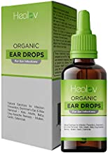 Organic Ear Oil for Ear Infections - Natural Eardrops for Infection Prevention, Swimmer's Ear & Wax Removal - Kids, Adults, Baby, Dog Earache Remedy - with Mullein, Garlic, & Tea Tree Oil
