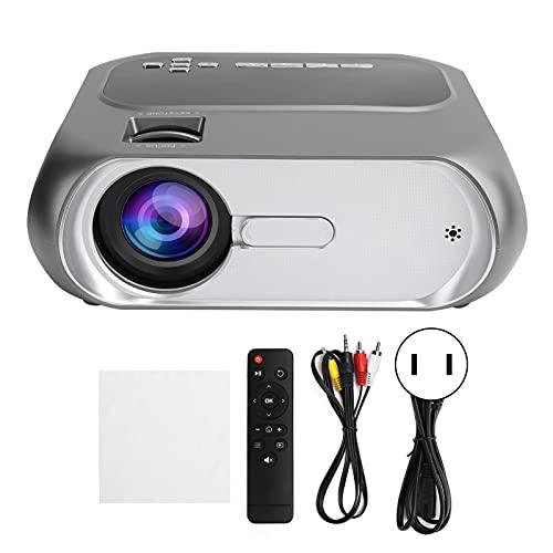 Proyector Full HD 1080P WiFi Bluetooth, resolución de Home Cinema de 1280x720P, Unidad de Imagen RGB de 1280 x 720, imágenes de 100 Pulgadas, Youtube preinstalado(EU)