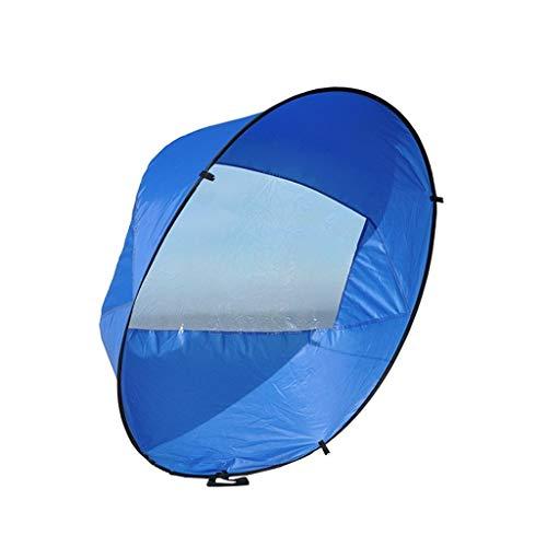 YING-pinghu Kayak Zubehör Bootfahren Wassersport Blau, Grün, Faltbare Kajak Windrichtung Kit Popup Brett-Wind-Paddel-Boot von Wind-Segel-Kajak-Kanu Schlauchboot Segelzubehör (Color : Blue)