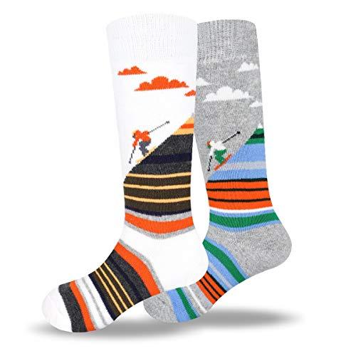 Womens Snow Ski Winter Sports Hiking Trekking Functional Thermal Socks Size 6-9