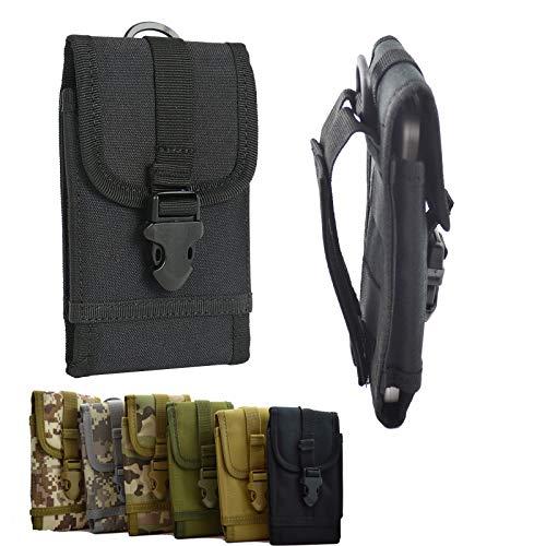 ikracase Outdoor Hülle für Gigaset GS290 Smartphone Gürteltasche Handy-Hülle Tasche Hülle Cover Holster in Schwarz