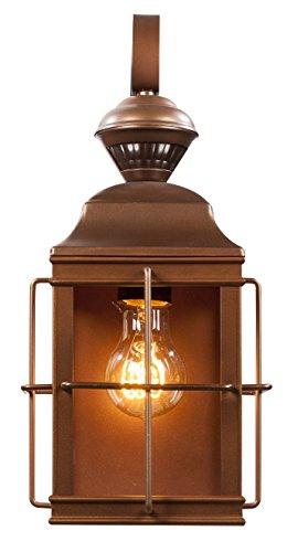 Heath/Zenith HZ-4144-AZ Dual Brite Dimmable Motion Activated Decorative Light, 120 Vac, 100 W, 60 Hz, 30 Ft, 150 Deg, Antique Bronze