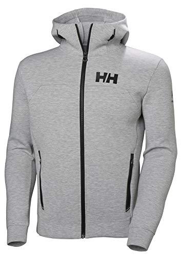 Helly Hansen Hp Ocean Fz Hoodie, Sudadera para Hombre, Gris (Gris 949), Large