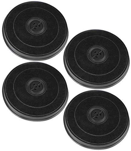 4 x AquaHouse kompatible E233 Kohlefilter für Dunstabzugshauben von Ariston, Indesit, Merloni C00090694 C00383475 C00307666