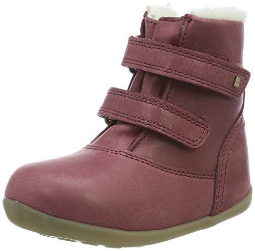 Bobux Mädchen SU Aspen Winter Boot Stiefel, Pink (Dark Pink), 20 EU