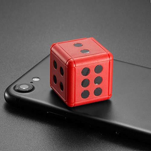 xiaoxioaguo Cámara de dados 1080P HD dinámica de grabación de acción de vídeo soporte TF tarjeta Rojo