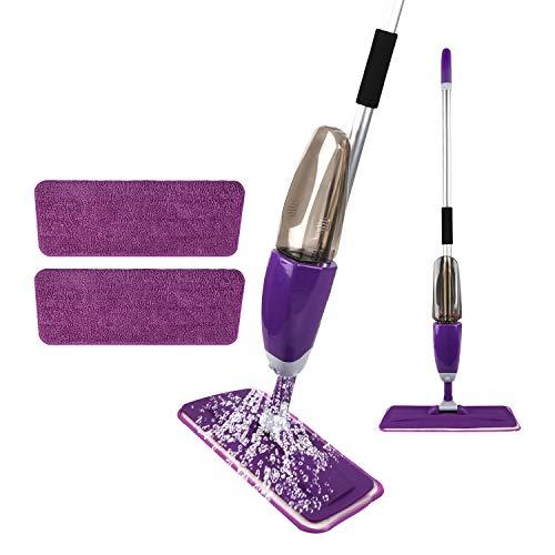 (20% OFF) Microfiber Spray Mop W/ 2 Reusable Mop Pads & 1 Refill Bottle $19.19 – Coupon Code