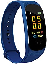 Kooman Fitness Tracker, Activity Tracker Heart Rate Blood Pressure with Color Screen Tracker, Step Counter, Sleep Monitor Smart Watch, IP67 Waterproof Pedometer for Android and iOS