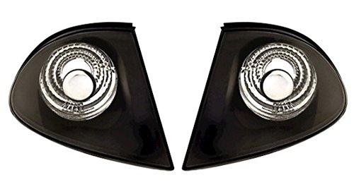 AD Tuning GmbH & Co. KG 960204 Frontblinker Set, Klarglas Schwarz