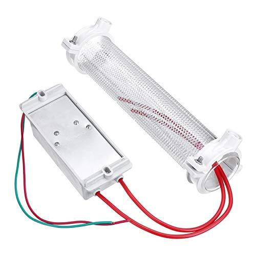 XIAOFANG Ozonizador del generador de ozono de Tubo de sílice 10G / 15G / 20G para la purificación de Aire AC220V DIY (Color : 20G AC220V)