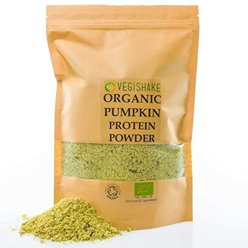 Organic Pumpkin Seed Protein Powder Linden Indig High 60g Protein BCAA - EAA (250g)