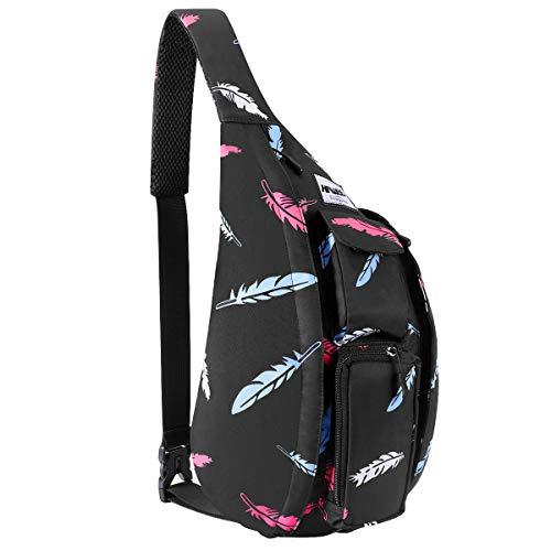 HAWEE Reise Brusttasche Sling Umhangetasche Rucksack Crossbody Schultertasche Daypack...