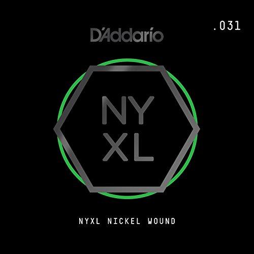 D'Addario NYNW031 NYXL Nickel Wound Einzelsaite