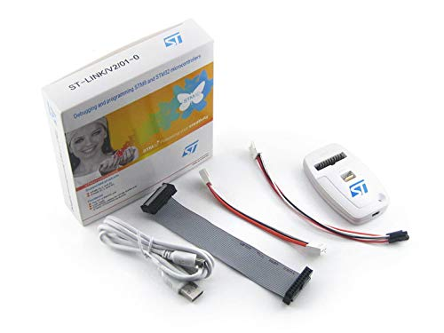 Waveshare-ST-Link/V2CN para STM32STM8MCUs Programador JTAG Dbs in-Circuit USB depurador emulador