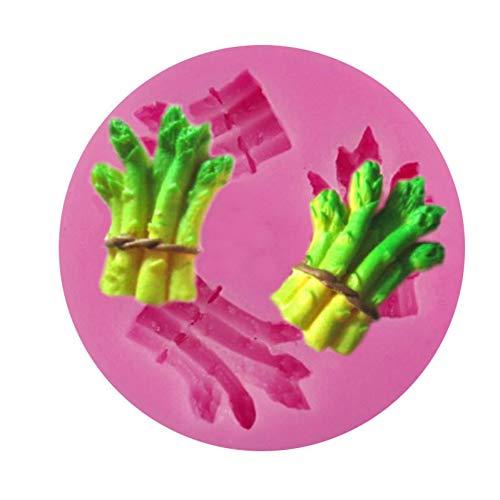 GJEFEGS Stampo in Silicone 3D Attrezzo per Torta Fondente Cioccolato Cnady Biscotti Pasticceria