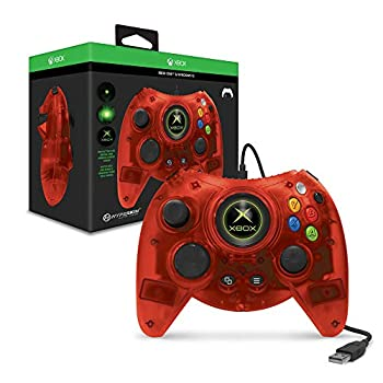 Hyperkin Duke Wired Controller for Xbox One/ Windows 10 PC  Red Limited Edition  - Officially Licensed By Xbox