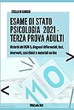 Esame di Stato Psicologia. Terza Prova Adulti: Disturbi del DSM-5, casi clinici e materiali on-line