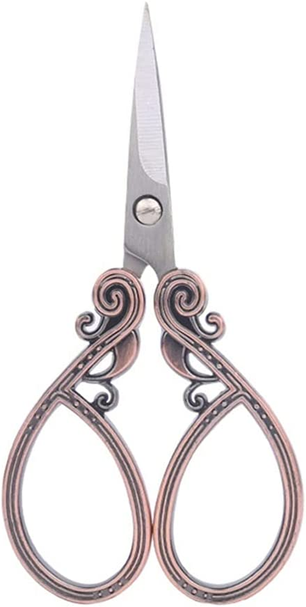 LKKPT Craft Soldering Scissors Retro Cutting Cutter Antique Beauty products Style