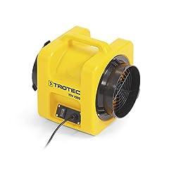 TROTEC TTV 1500 Axial fläkt fläkt 1.050 m3 / h Ventilation Ventilation Professionell Fläkt Craft Industri
