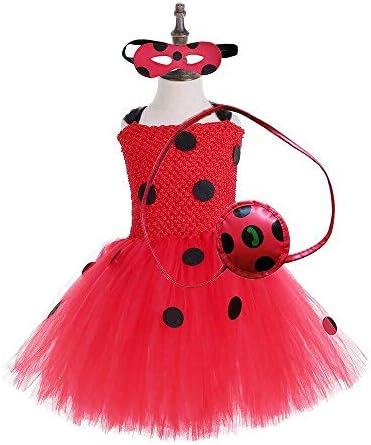 Ladybug girl dress