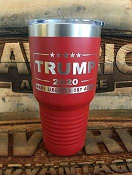 Trump 2020-30oz Insulated Tumbler - MAGA - Make Liberals Cry Again