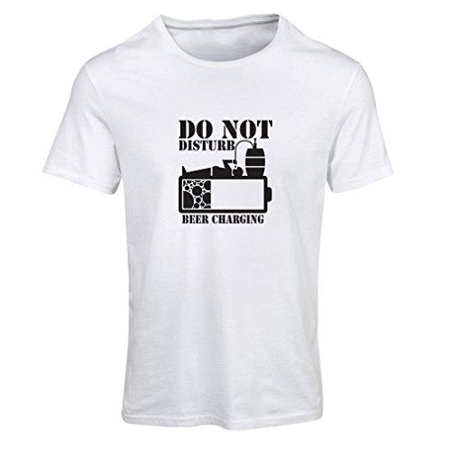 lepni.me Camiseta Mujer Carga de Cerveza, Refranes Divertidos para Beber, Regalos para cervecero (Small Blanco Negro)