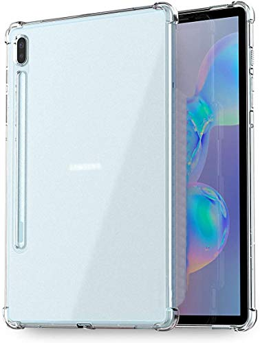 """Capa Protetora Para Tablet Samsung Galaxy Tab S6 T860 e T865 Tela 10.5"""" Polegadas Capinha Case Transparente Air Anti Impacto Proteção De Silicone Flexível - Danet"""