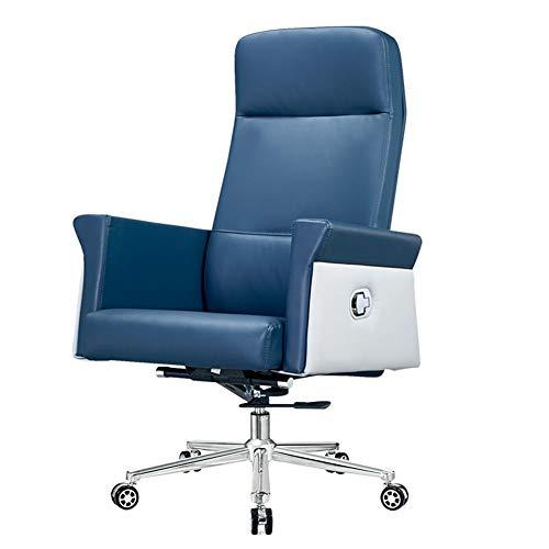 Ergonomischer Stuhl Computer Stuhl Bürostuhl Kuhfell Boss Stuhl