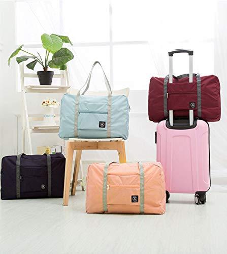 melupa Foldable Travel Duffel Bag, Carry On Luggage Bag, Lightweight...