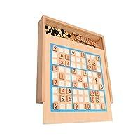 20 in 1木製数独パズルゲーム玩具、論理的思考のための教育パズルボードゲーム玩具