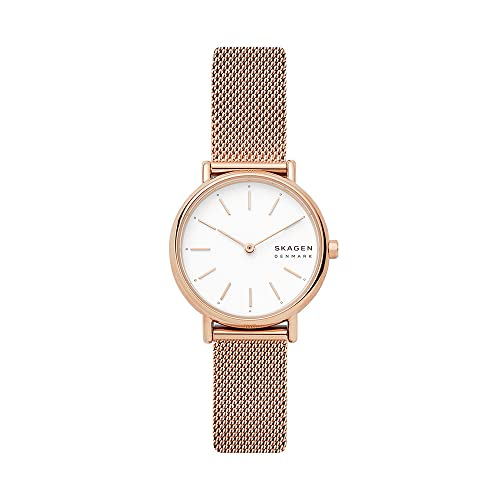 Skagen Damen Analog Quarz Uhr mit Edelstahl Armband SKW2694