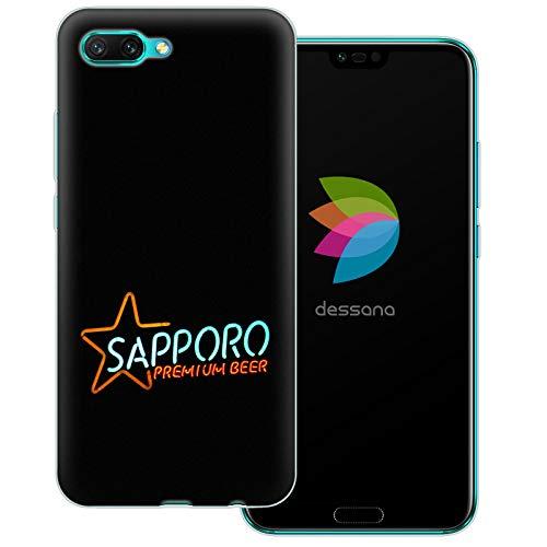 dessana Japan Sightseeing transparente Schutzhülle Handy Case Cover Tasche für Huawei Honor 10 Sapporo Bier