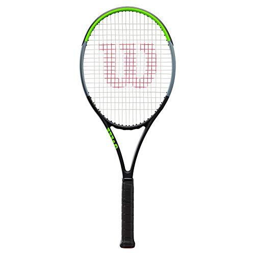 Wilson Blade 104 Sw V7.0 Tns Encordado: No 306G Raquetas De Tenis Raquetas De Competición Negro - Verde Claro 2