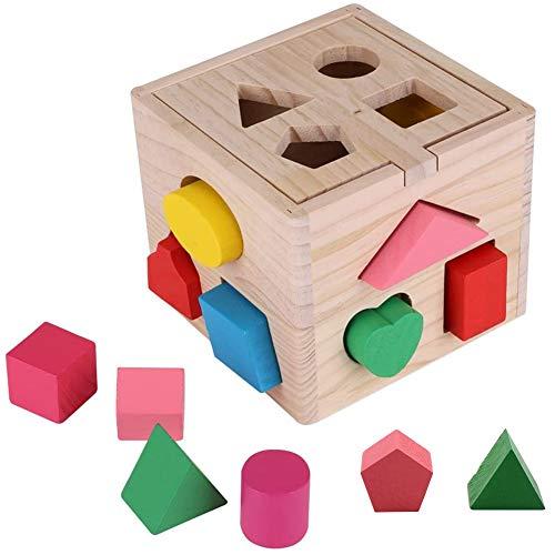 BESTZY Stack & Sort Board Tablero Juguete para Bebé +6 Meses