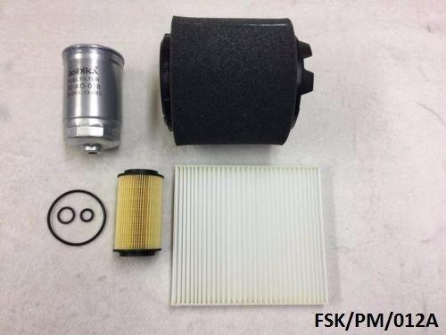 Ashika filtres kit d'entretien Calibre PM 2.2 CRD 2011–2012