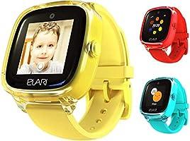 2G GPS Takip Cihazı Çocuk Akıllı Saat Telefon Erkek ve Kız Çocuklar Için Su Geçirmez, 2 Yönlü Sesli Aramalar, SOS...