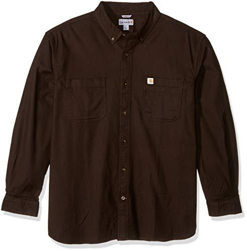 Carhartt Men's Rugged Flex Hamilton Solid Long Sleeve Shirt