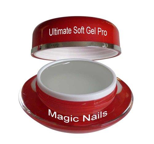 Magic Items Gel UV Ultimate Soft Pro - 3 en 1 - Transparent - 15 ml