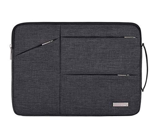 Breifcase Notebook-Tragetasche für Microsoft Surface Pro 7 / X / 6 12.3 / HP Elite x2 G4 13 / 12.3 / Chuwi UBook Pro 12.3 / 12.3 (33 cm) (13 Zoll) / Notebook (schwarz)