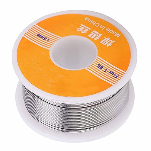 Alambre de estaño, núcleo de resina al 1,8% 60-40 Núcleo de resina 60-40 firme y confiable para soldadura eléctrica, motores, placa de circuito