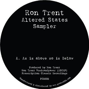Altered States Sampler - EP