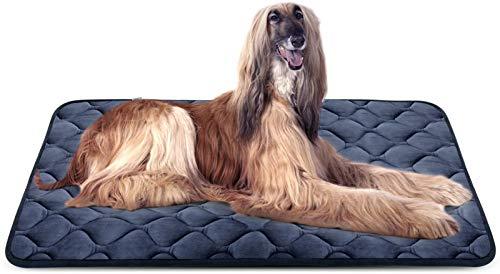 Hero - Colchón Antideslizante para Perro, Lavable para Mascotas Grandes, Medianas y pequeñas, para Dormir, Color 2, 47 IN