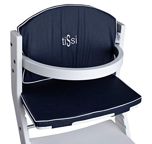 TiSsi 100008 Polter für Kinderhochstuhl, blau, 0.27 kg