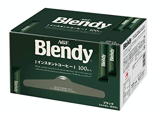 AGF ブレンディ スティック 100本 【 スティックコーヒー 】【 水に溶けるコーヒー 】【 インスタントコーヒー 】