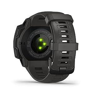 Garmin Instinct - Reloj resistente con GPS, Grafito