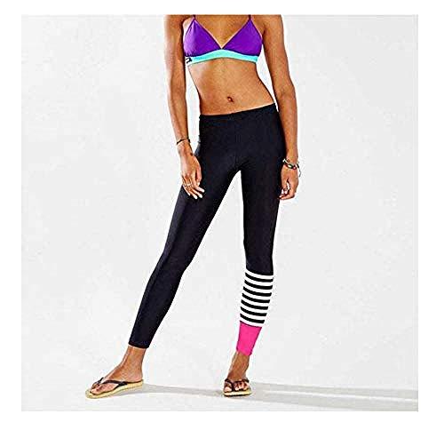 WANJ Pantalones de Running para Mujer Leggings Deportivos de Yoga para Mujeres Ejercicio de Yoga para Mujeres Ropa Deportiva para Correr Pantalones Deportivos elásticos para Gimnasio Pantalones